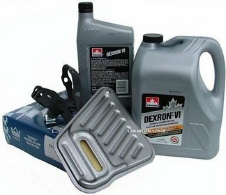 Petro-Canada Filtr oraz olej Dextron-VI automatycznej skrzyni biegów AXODE Linco