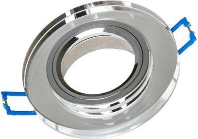 Superled Oprawa Oprawa LED halogenowa stała szklana okrągła clear OH26 3436