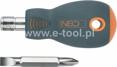 NEO-TOOLS wkrętak płasko-krzyżowy 38mm 04-201