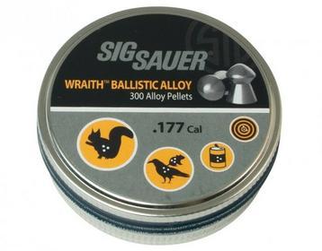 Śrut Sig Sauer Wraith 4,5 mm 300 szt. (AIR-AMMO-WRAITH-AL-177-300)