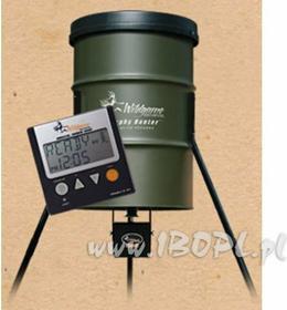 Automatyczny podajnik karmy 210l / cyfrowy PO970
