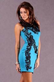 EMAMODA 4907 Sukienka z haftem
