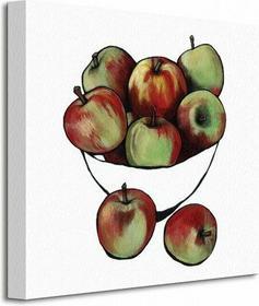 Bowl of Apples - Obraz na płótnie