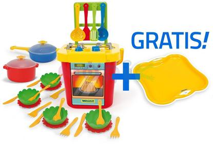 Wader Kuchnia z akcesoriami + taca GRATIS Party World 24150