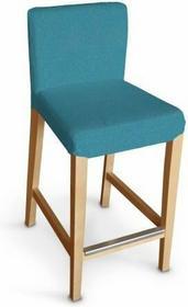 Dekoria Sukienka na krzesło barowe Hendriksdal krótka Etna turkus