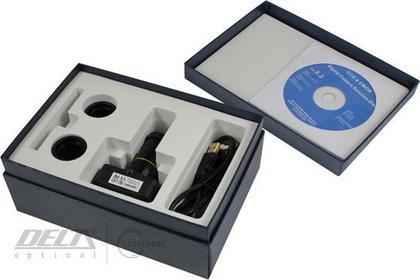 Delta Optical Cyfrowy okular mikroskopowy / kamera 3,2 MP PRO