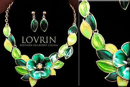 Lovrin Komplet biżuterii Z700