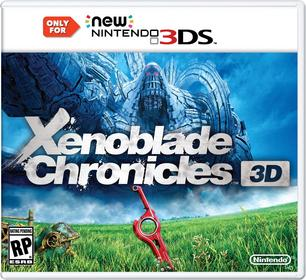 Xenoblade Chronicles 3D New 3DS