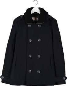 Petrol Industries Płaszcz wełniany /Płaszcz klasyczny czarny P6822H006-Q11