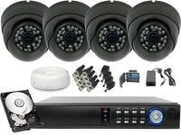 Zestaw do monitoringu 4x Kamera HD z IR do 25m