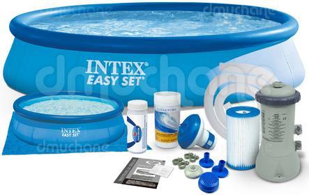 Intex n ogrodowy rozporowy z pompą 396 x 84 cm 7w1 INTEX 28142 28142-7w1