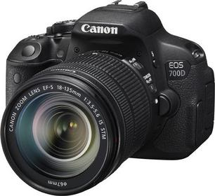 Canon EOS 700D + 18-135 + 40 mm STM kit