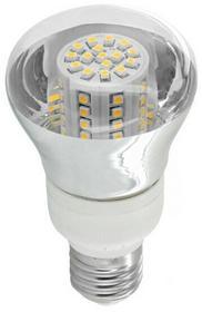 Whitenergy Żarówka LED 4W E27 biała zimna 80SMD R63 7578 230V 07578