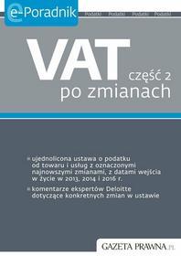 Anita Jackiewicz VAT część 2 po zmianach