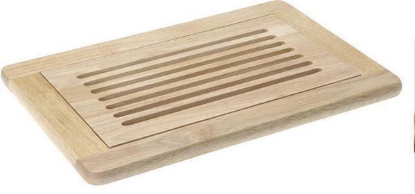 Excellent Houseware EH Deski bambusowe Deska do krojenia chleba, 42x28cm CC8000110 26/
