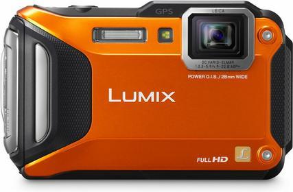 Panasonic DMC-FT5 3D pomarańczowy