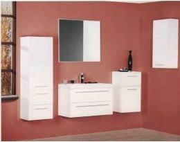Elita Lustro łazienkowe Kwadro White 80/60 162337 80 x 60 cm