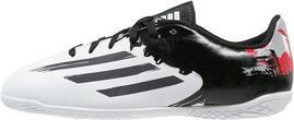 Adidas Performance MESSI 10.4 IN Halówki white/granit/scarlet B44512