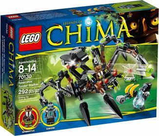 LEGO Legends of Chima 70130 Pajęczy ścigacz Sparratusa