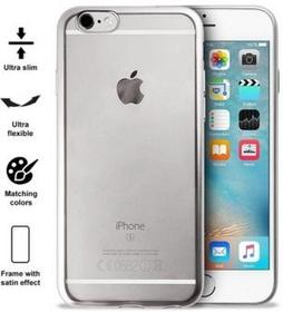 PURO Satin Cover Etui iPhone 6/6s Silver - IPC647SATINSIL - IPC647SATINSIL