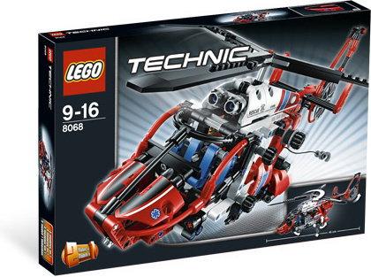 LEGO Technic - Helikopter ratunkowy 2w1 8068