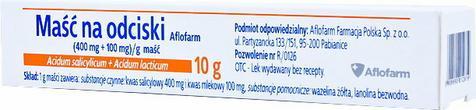 Aflofarm Maść na odciski 10 g