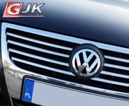 CRONI VW PASSAT B6 2005-2010 Nakładki na grill stal połysk VW01G