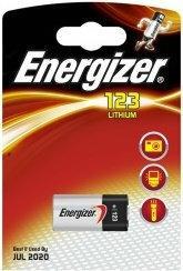 Energizer bateria foto litowa CR123