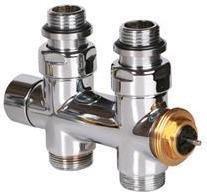 Terma Zawór termostatyczny 50mm w osi, prosty, chrom GZ TGZPTERPROCR01