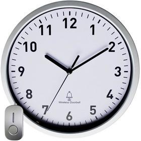 EuroTime Zegar ścienny 51202 Sterowany radiowo xG) 30 cmx5 cm