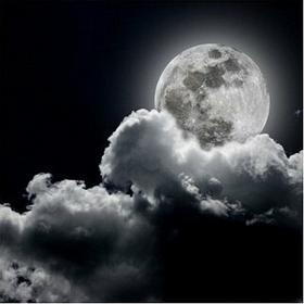 Pełnia księżyca - Obraz, reprodukcja