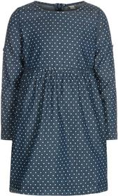 Esprit Sukienka jeansowa dark blue 025EE5E004/025EE7E005