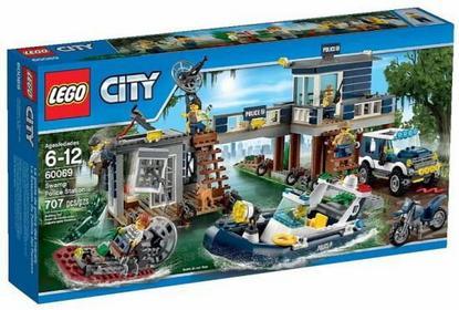 LEGO City - Posterunek Policji z Bagien 60069