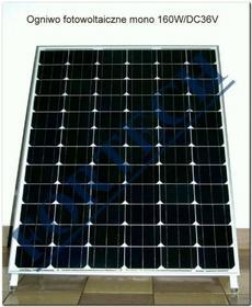 Fortech panel fotowoltaiczny monokrystaliczny - fotoogniwo 160 W DSP-160M