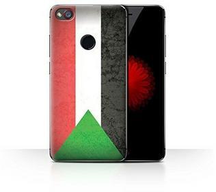 Stuff4 Hülle / Case für ZTE Nubia Z11 Mini / Sudan/Sudanese Muster / Afrika Flagge Kollektion