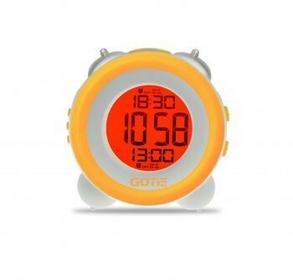 Budzik elektroniczny Gotie GBE-200 żółty