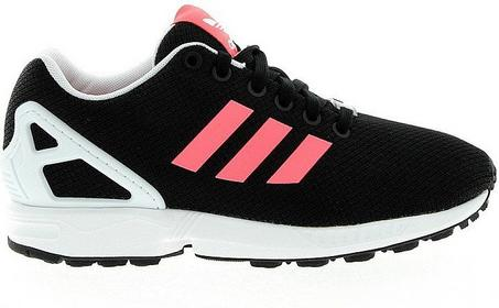 Core Originals ZX FLUX W sportowe i Trampki czarny/flash red/white B34057
