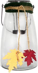 Home Styling Collection Szklany Lampion dekoracyjny JESIEŃ, 26 cm 8718158393081-