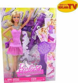 Mattel Barbie Barbie i brokatowa stylizacja 2011 V4594