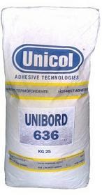 Unicol Klej topliwy UNIBORD 636 naturalny - 25kg