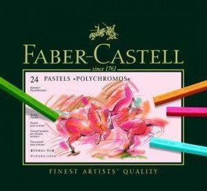 Faber-Castell Producent Pastele suche polychromos 24 szt 128524