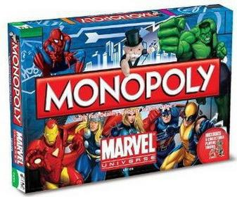 Hasbro Monopoly: Marvel Universe