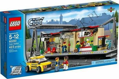 LEGO CITY - Dworzec kolejowy 60050