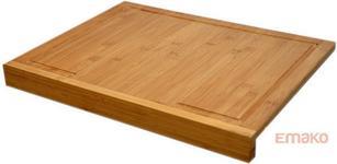 Excellent Houseware EH Deski bambusowe stolnica, Deska do krojenia - 2 w 1 K/6 3.6 - 6