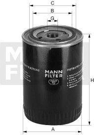 MANN Filtr oleju W 719/30 /