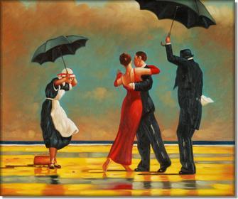 Śpiewający kamerdyner - Jack Vettriano