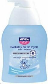 Nivea BABY Delikatny żel do mycia ciała i włosów dla dzieci i niemowląt z wyciągiem z nagietka 250ml