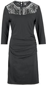 Kaffe INDIA Sukienka z dżerseju black 550822