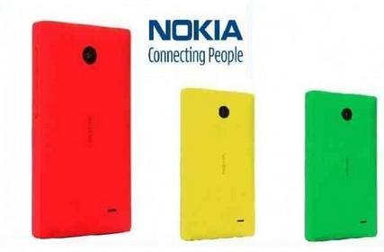 Nokia CC-3080 czerwona Oryginalna tylna obudowa do X CC3080