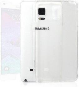 StilGut Przezroczysta obudowa Ghost + folia ochronna na ekran - Samsung Galaxy N
